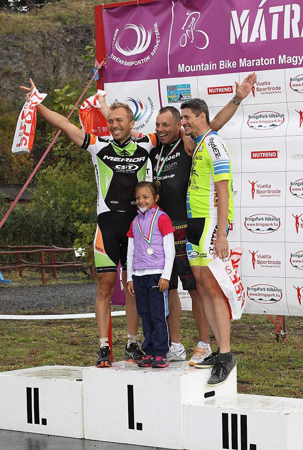 2014 Mátra Maraton - Kefe a dobogón
