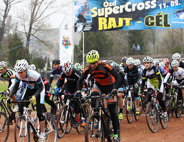 2014 SuperCross CX - Ózd Kupa, rajt