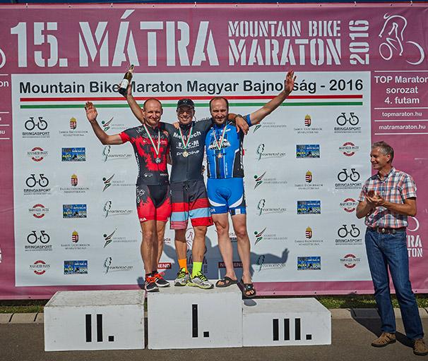 2016 Mátra Maraton - Master2 dobogó
