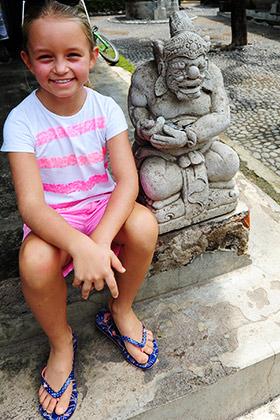 Nyaralás (telelés) Bali szigetén - Indonézia, 2016, Letta