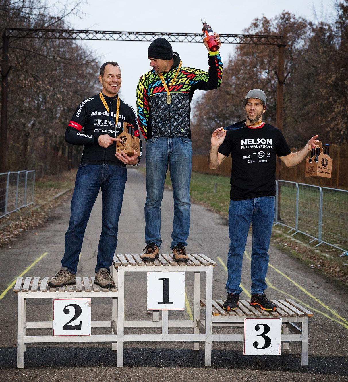 Kecskemét CycloCross Magyar Kupa, 2018, Master2 dobogó