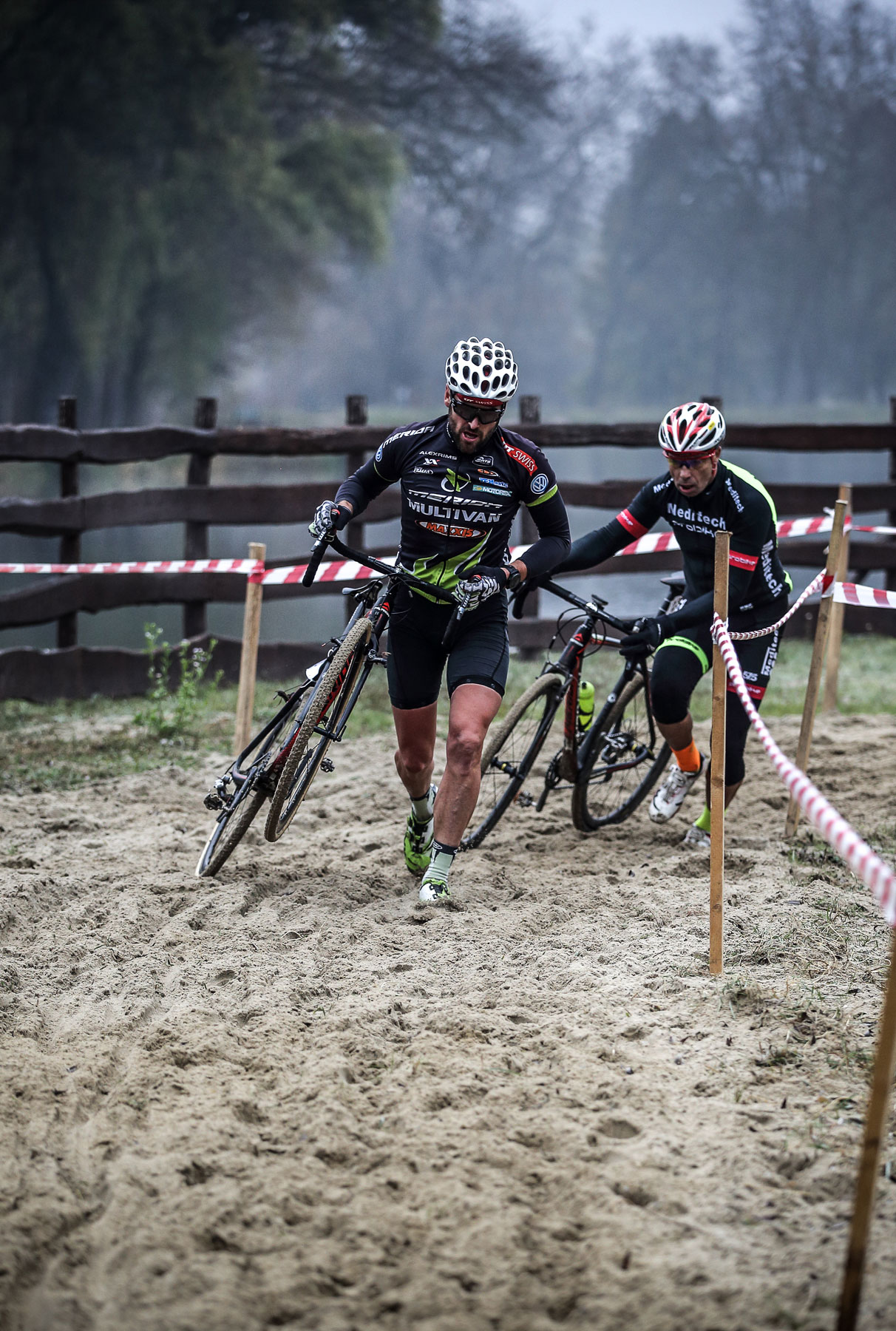KolorCross Cyclocross Magyar Kupa, Kazincbarcika, homokágy