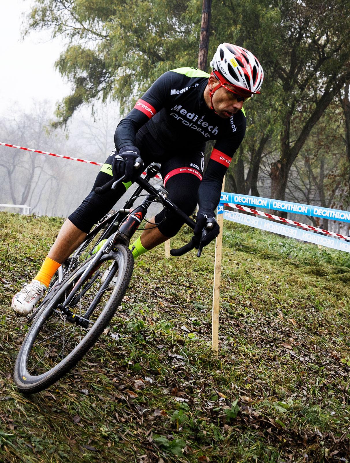 KolorCross Cyclocross Magyar Kupa, Kazincbarcika, Fésüs László